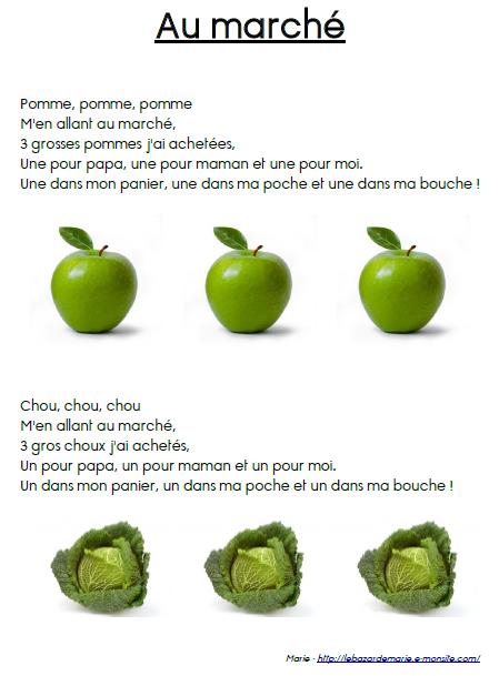 Chansons Et Comptines Pour La Maternelle